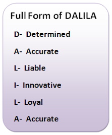 Dalila Group, Name is Sufficient