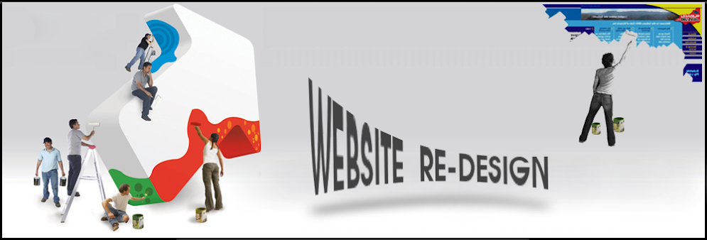 website redesign by dalila group services, web site re-design